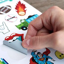 Stickers papel autoadhesivo